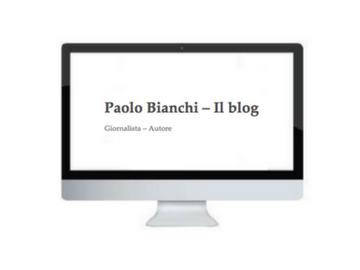 PAOLO BIANCHI BLOG
