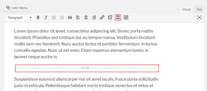 Italianizzare il tag more in WP: trucchi e consigli