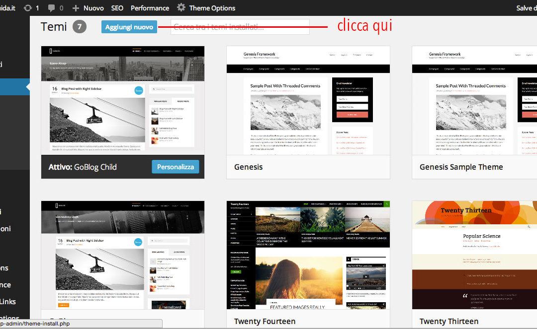 i 4 Temi WordPress assoluti: i magnifici 4