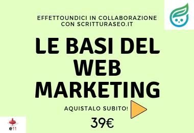 corso web marketing online