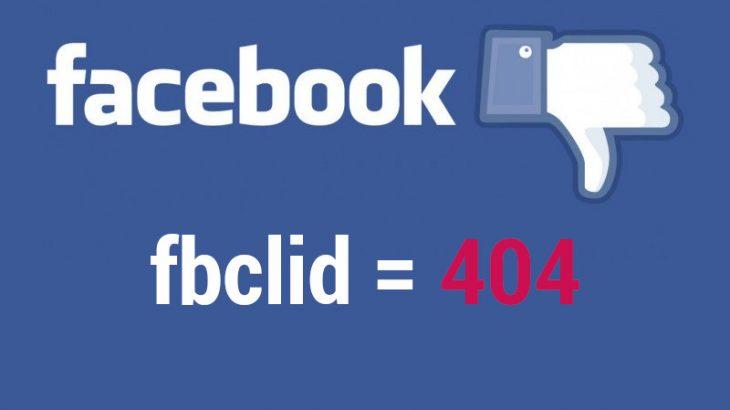 FbClid parametro Facebook da tenere sotto osservazione
