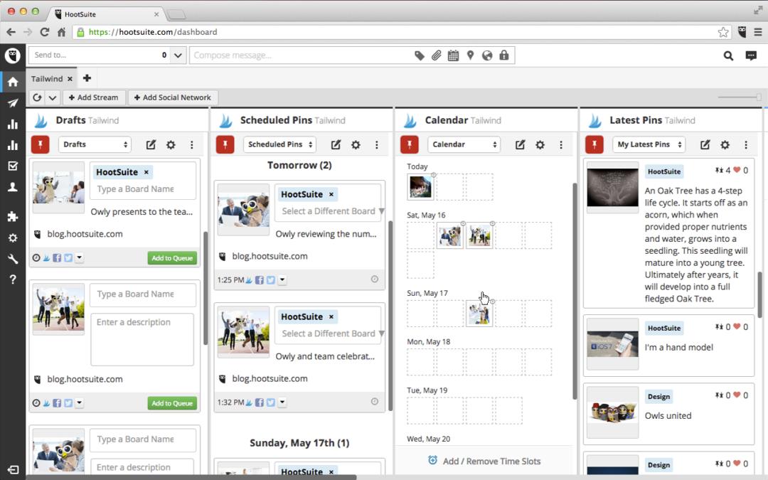 Hootsuite e altri tool di social media management