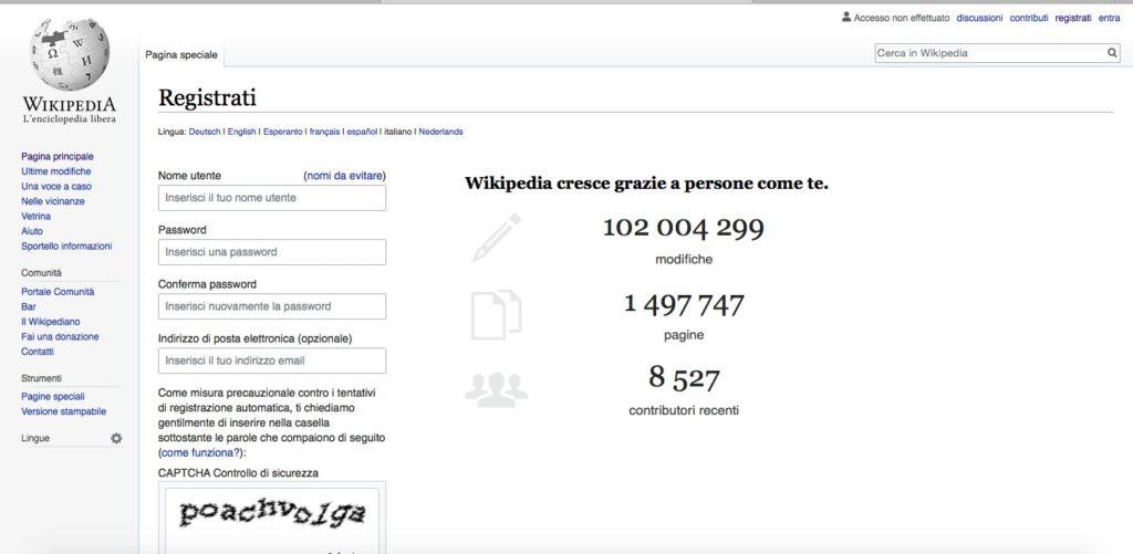 Come creare pagina su Wikipedia