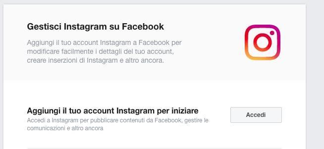 Collegare Instagram a Facebook: tutti i passaggi