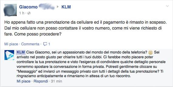 commenti negativi facebook