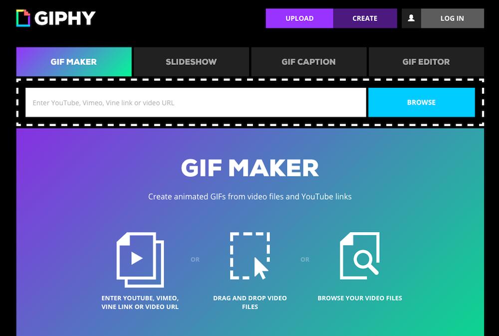 creare GIF animate
