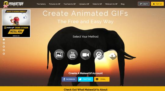 Creare GIF animate: le migliori app e siti online