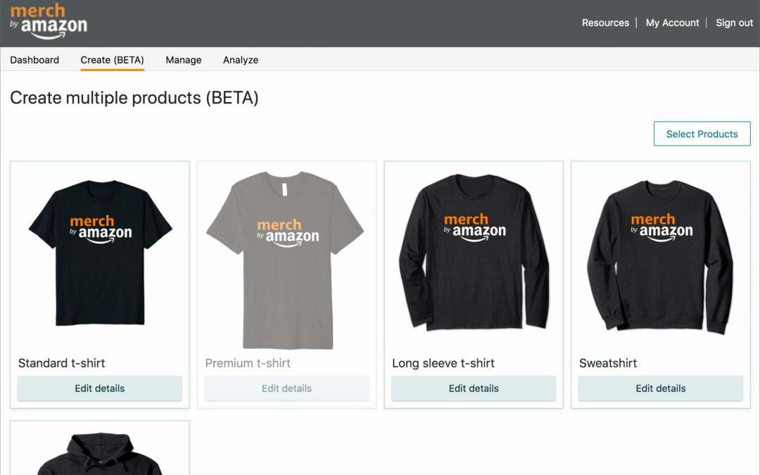 Amazon Merch come funziona e di cosa si tratta