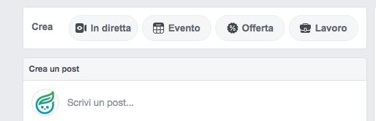 diretta facebook