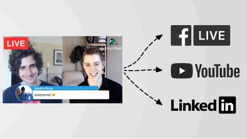 Dirette Facebook con Streamyard