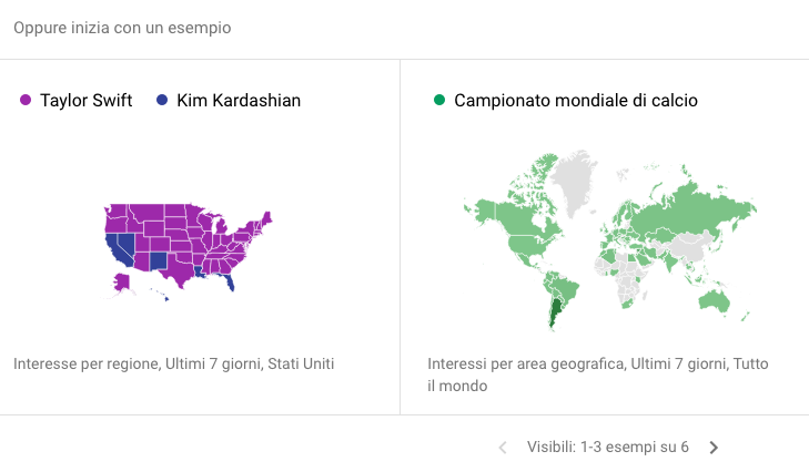 Google Trends: come interpretare i dati relativi all'interesse di un termine di ricerca in rapporto ai dati forniti da SEOZoom e SEMrush